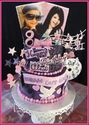 Selena Gomez Birthday Cake Cakes Cake Decorating