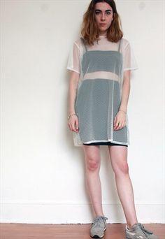 The new oversized neoprene t-shirt dress http://one-boutique.co.uk ...