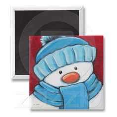 Festive Snowman - fill the frame