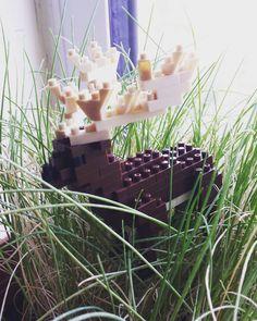 "5 mentions J'aime, 1 commentaires - HoroShiro15 (@horoshiro15) sur Instagram: ""He enjoys long grass on a rainy day. #nanoblock #building #blocks #japan #grass #cute #elk #deer…"""
