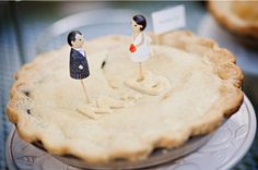wedding pie.
