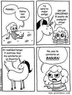¡Un unicornio!