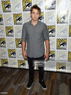 Actor Dylan Sprayberry attends the 'Teen Wolf' press room during Comic-Con International 2015 at the Hilton Bayfront on July 10, 2015 in San Diego, California.