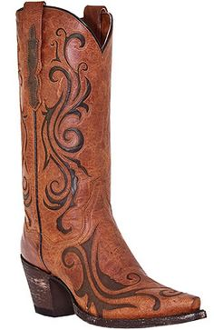 "Dan Post 12"" Pull On Cowboy Boots"