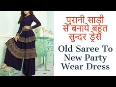 #diys#creativity#art#diydress#diyfashion Pakistani Dress Design, Pakistani Dresses, Diy Fashion Hacks, Fashion Tips, New Party Wear Dress, Palazzo, Creative Art, Designer Dresses, Diys