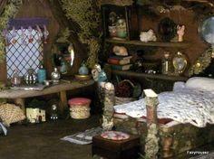 Fairy House OOAK Maine Fairy Cottage Coast of by FairyHousez