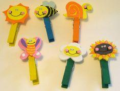 Giochi e lavoretti per bambini: Lavoretti con le mollette di legno. Sottocoperta: il portale di Viaggi, Enogastronomia e Creatività