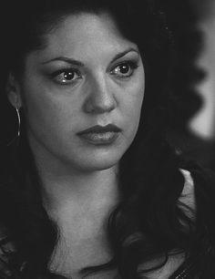 Calliope Torres... tears in her eyes