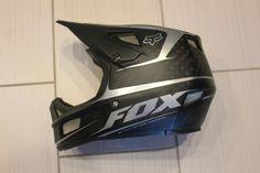 FOX RAMPAGE PRO CARBON MTB MOUNTAIN BIKE FULL-FACE HELMET XL DH FREERIDE PARK