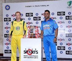 Australia versus India first ODI, Australia won the toss, chose to bat first,Australia won by 72 runs and Player of the match Australia captain G Bailey