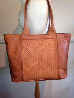 9621315da9d Tan leather tote leather handbag shoulder bag by nourleather, £95.00 Mei,  Tan Leather