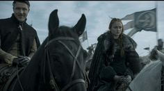 "Petyr Baelish and Sansa Stark 6x09 ""Battle of the Bastards"""