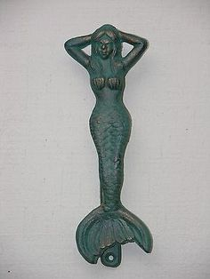 Genial Mermaidhomedecor   Brass Mermaid Door Knocker $49.96 | Mermaid Door Knockers  | Pinterest | Doors