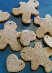 Getting Messy With Ms. Jessi: No Cook/No Bake Cinnamon Ornaments