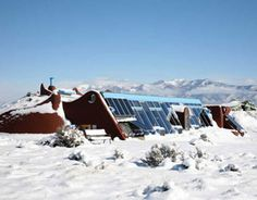 Earthships...homes from recycled materials and solar.    #repurpose #green.