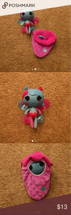 Lalallopsy Fairy Littles - Fairy Lilac Excellent condition from smoke free pets free home Lalaloopsy Other