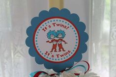 Thing 1 Thing 2 Baby Shower Party Ideas | Photo 4 of 14 | Catch My Party