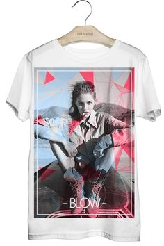 Camiseta Masculina Blow It - Red Feather varejo