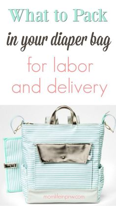 9a3b9553949 247 Best Labor   Delivery Bag - Hospital Bag Essentials images ...