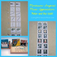 Montessori-inspired ideas for hands-on learning with Peter and the Wolf. Music giveaways from both Maestro Classics and Montessori Print Shop as well.