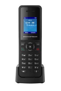 The DP720 mobile DECT handset is the perfect solution for any business, warehouse, retail store or residential environment. It is supported by Grandstream?s DP750 DECT VoIP base station.