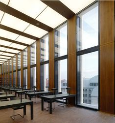 Jacob and Wilhelm Grimm Centre opened to the public Humboldt University has had a new central library erected right in the centre of Berlin, only a few minut. Office Building Architecture, Modern Architecture, Berlin, Central Library, Learning Centers, Centre, Dudler, Home