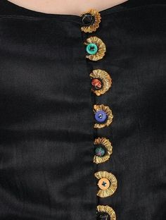 Embroidery Blouse Saree Ideas For 2019 Salwar Neck Designs, Kurta Neck Design, Neck Designs For Suits, Neckline Designs, Dress Neck Designs, Kurta Designs, Sleeve Designs, Kurti Patterns, Blouse Patterns