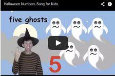 Cute Halloween Numbers Song http://espemoreno.blogspot.com.es/2013/10/cute-halloween-numbers-song.html