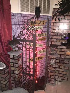 My own props- Halloween 2016- Harry Potter- Hogwarts