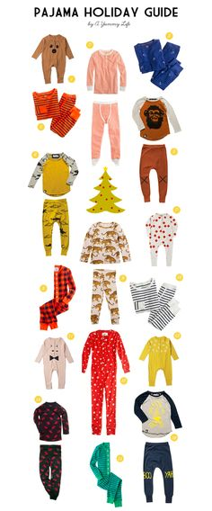 A Yummy Life | Pajama Holiday Guide 2012