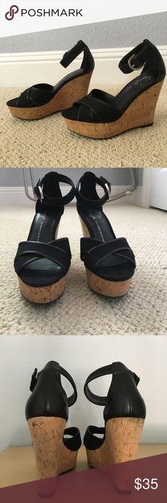 Selling this Franco Sarto cork platform sandal size 7M on Poshmark! My username is: stylemeemilie. #shopmycloset #poshmark #fashion #shopping #style #forsale #Franco Sarto #Shoes
