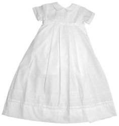 Poly-Cotton Christening Baptism Convertible Family Gown with Pintucking and Button Accents- Size 12 Month Petit Ami,http://www.amazon.com/dp/B003JXQSFG/ref=cm_sw_r_pi_dp_kdZmsb0GDZHTS2ZJ