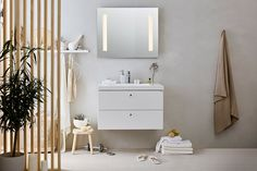 Interior design for Ballingslöv Bathroom Vanity, Bathroom Interior, Minimalist, Bathroom, Single Vanity, Interior Design, Interior, Shabby Chic, Modern