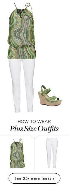 """""""spring"""" by vay-brown on Polyvore featuring Steilmann and UGG Australia #curvy #fashion"""