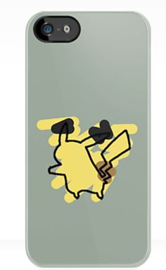 Pokémon iphone 5 cases from redbubble.com. Prices range from $30-45. Pikachu