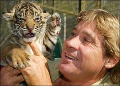 I have looked up to Steve Irwin since I was five years old. I loved animals, and the notion that a full-grown man could love them almost as much as I did was inspiring. When he died, I felt like a little piece of me had died with him. I won't ever forget the lessons he taught.