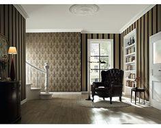 Vliestapete Trianon Ornament Braun Bei HORNBACH Kaufen