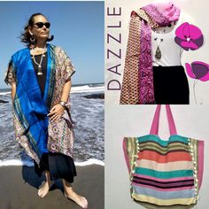 * * 🌎EcoFriendly clothing 👗👚👘 Treasures from 🐪India & more * 🎁Unique gifts for the modern bohemian woman to dress to impress! * www.indi-blu.com Boho Womens Clothing, Women's Clothing, Boho Kimono, Kimono Top, Wrap Around Skirt, Boho Style Dresses, Eco Friendly Fashion, Modern Bohemian, Dress To Impress