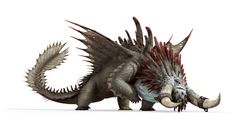 Bewilderbeast, a Tidal class dragon that appears in the film How to Train Your Dragon 2. Listed as the Alpha species.