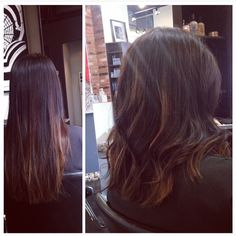 Cut off the old to make room for the new! Cut and colour by Terri #pureformsalon #yyc #colorful #haircolor #hairstyle #color #beauty #haircut