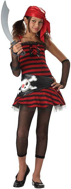 Pirate Cutie Girls Pirate Costume