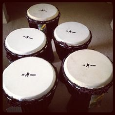 It's raining #djembes! Thank you X8 Drums! #Instagram #musicians #bands