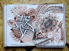 Zentangle: Amsterdam - 1 of ?