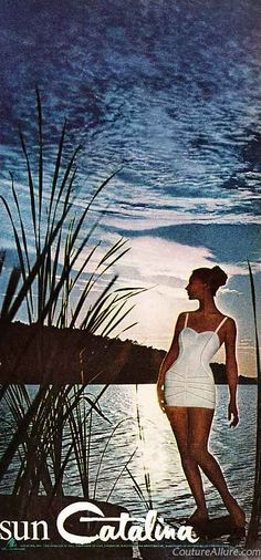 Catalina swimsuit ad, 1960  Couture Allure Vintage Fashion