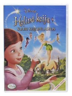Helinä-Keiju ja Suuri Keijupelastus DVD 3,00€