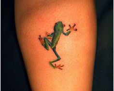 Top 15 Frog Tattoo D