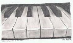 My piano - Drawing by OoOoNettaoOoO