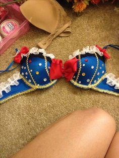 Snow White rave bra... #MyFirst #DIY #PLUR