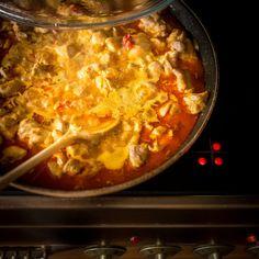 Thajské kuřecí curry | Koření od Antonína Fish And Chips, Chili, Steak, Food And Drink, Soup, Japanese, Chile, Japanese Language, Steaks
