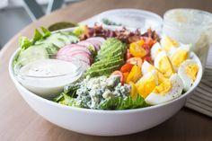 Cobb Salad for Two with Genius Caesar Dressing